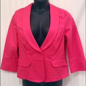 CAbi   #310 Power Pink Twill Jacket/Blazer S-14